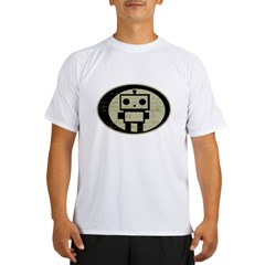 Math Bot E=mc2 Performance Dry T-Shirt