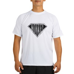 SuperMonkey(metal) Performance Dry T-Shirt
