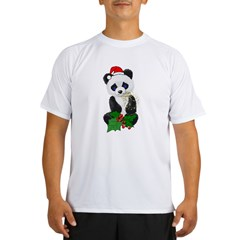 Christmas Panda Performance Dry T-Shirt