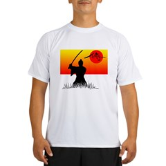Samurai in Sun Performance Dry T-Shirt