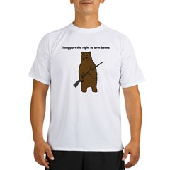 Right to Arm Bears Performance Dry T-Shirt
