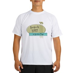 Everybody Loves an Accordion Player Performance Dry T-Shirt