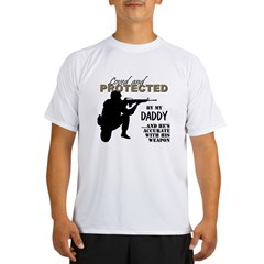 Loved Protected Daddy Performance Dry T-Shirt