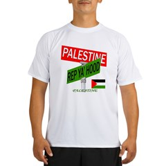 REP PALESTINE Performance Dry T-Shirt