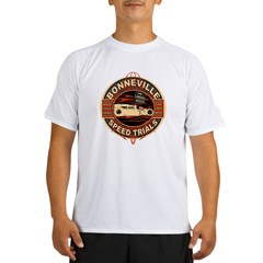 BONNEVILLE SALT FLAT TRIBUTE Performance Dry T-Shirt