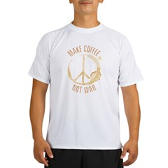 Make Coffee Performance Dry T-Shirt
