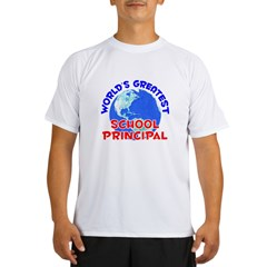 World's Greatest Schoo.. (E) Performance Dry T-Shirt