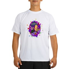 Easter Egg and Flowers Performance Dry T-Shirt