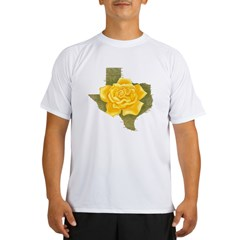 Yellow Rose of Texas Performance Dry T-Shirt