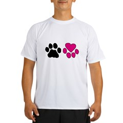 Heart Paw Performance Dry T-Shirt