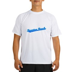 Retro Boynton Beach (Blue) Performance Dry T-Shirt