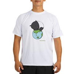 : 'Tapir on World' Performance Dry T-Shirt