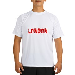 London Faded (Red) Performance Dry T-Shirt