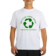 Recycled Parts Inside Performance Dry T-Shirt
