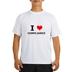 I (heart) Compliance Performance Dry T-Shirt