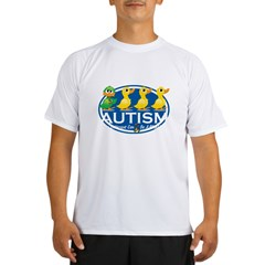 Autism-ugly-duckling-blk Performance Dry T-Shirt