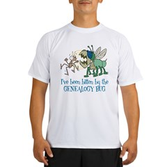 Bitten by Genealogy Bug Performance Dry T-Shirt