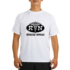 Ninja Nurse Performance Dry T-Shirt