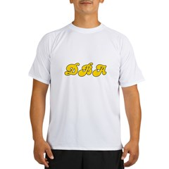 Retro DBA (Gold) Performance Dry T-Shirt