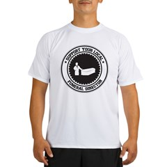Support Funeral Director Performance Dry T-Shirt