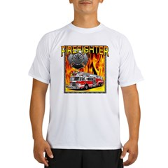 LADDER TRUCK Performance Dry T-Shirt