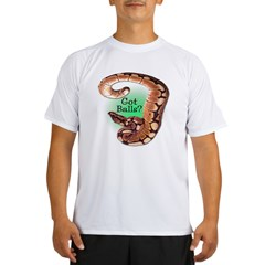 SPIDER BALL PYTHON SNAKE Performance Dry T-Shirt
