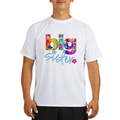 2-big sister flower back Performance Dry T-Shirt