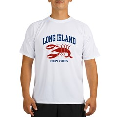 Long Island New York Performance Dry T-Shirt