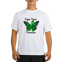 I Wear Green Gift of Life Performance Dry T-Shirt