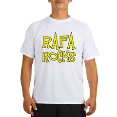 Rafa Rocks Tennis Design Performance Dry T-Shirt