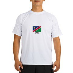 Namibia Flag Performance Dry T-Shirt