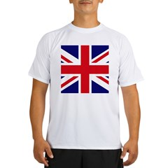 British Flag Union Jack Performance Dry T-Shirt