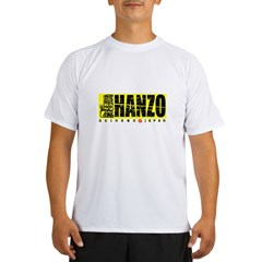 Hanzo Distress Performance Dry T-Shirt