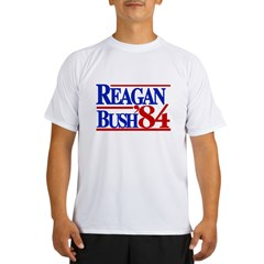 Reagan Bush 1984 Performance Dry T-Shirt