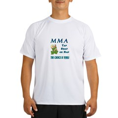 MMA Teddy Bear Performance Dry T-Shirt