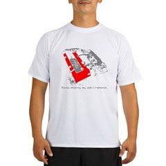 2liters copy Performance Dry T-Shirt