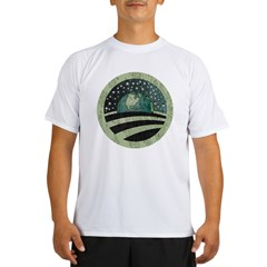 ObamaEarth-distressed on black Performance Dry T-Shirt