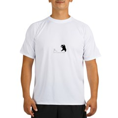 Exit, Pursued By A Bear - Performance Dry T-Shirt