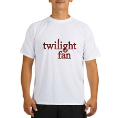 Twilight Fan Red Performance Dry T-Shirt