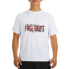 My Girlfriend My Hero - Fire Dept Performance Dry T-Shirt