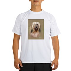 Tibetan Terrier Performance Dry T-Shirt
