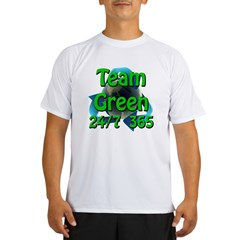 Team Green 24/7 365 Performance Dry T-Shirt