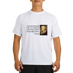 Thomas Jefferson 1 Performance Dry T-Shirt