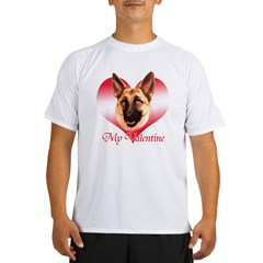 Tan Shep Valentine Performance Dry T-Shirt
