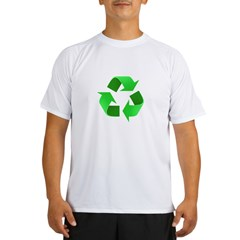 Environmentalist Go Green Tip Performance Dry T-Shirt