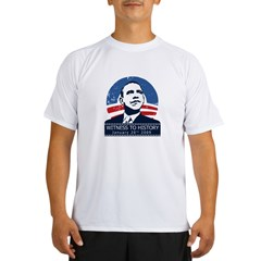 Obama Inauguration Performance Dry T-Shirt