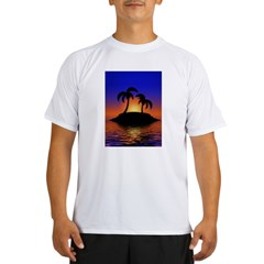 sunrise-sunset--palm-tree-s.jpg Performance Dry T-Shirt
