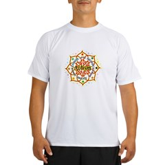 Autism Lotus Performance Dry T-Shirt