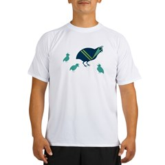 Quail Family Performance Dry T-Shirt