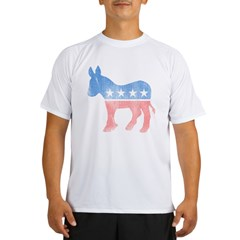 Democratic Donkey Performance Dry T-Shirt